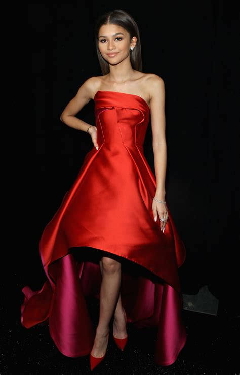 Scarlet Fall Sexiest Dresses by Zendaya Prom Dresses Vogue
