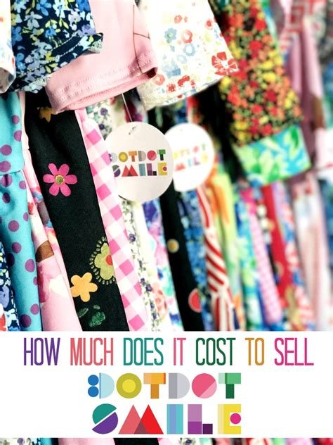 How Much Does It Cost To Sell Dot Dot Smile Moments With Mandi