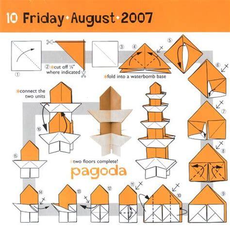 Origami Hen - origami pagoda 157 wedding noshi 158 cool hen 159