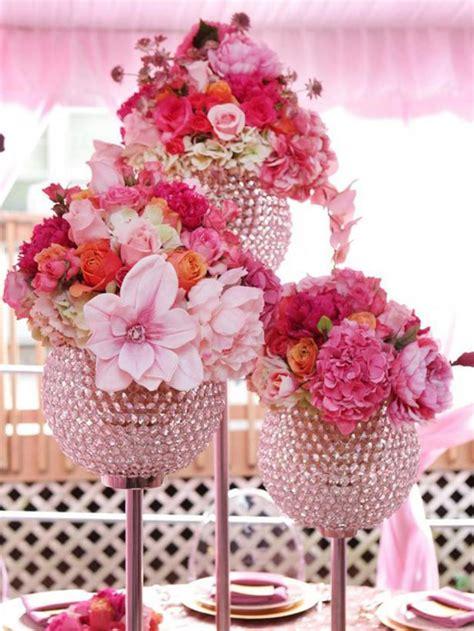 vase decoration ideas table centerpieces 37 floral centerpieces for wedding table