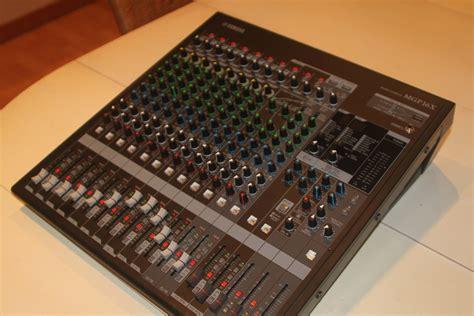 Mixer Yamaha Mgp16x yamaha mgp16x image 701731 audiofanzine