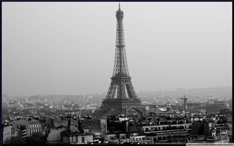 black and white eiffel tower wallpaper tower eiffel black and white wallpaper 1920 215 1200 120