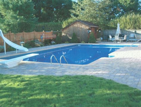 Backyard Rectangle Pools 17 Best Images About Backyard Pool Ideas On