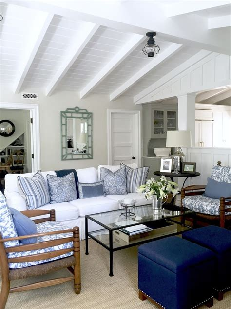 bonus room ideas casual cottage blue and white casual beach cottage easy beach cottages
