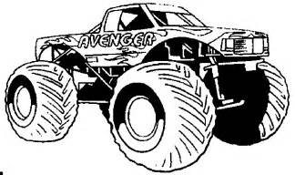 monster trucks coloring pages printable monster trucks coloring pages