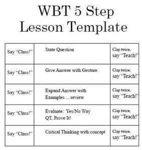 Lesson whole brain teaching lesson plan wbt lesson plan lesson