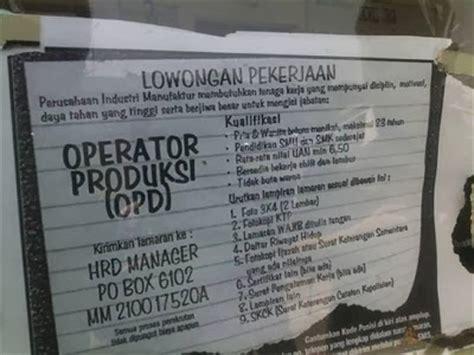 lowongan pt yamaha manufacturing asia loker purwasuka