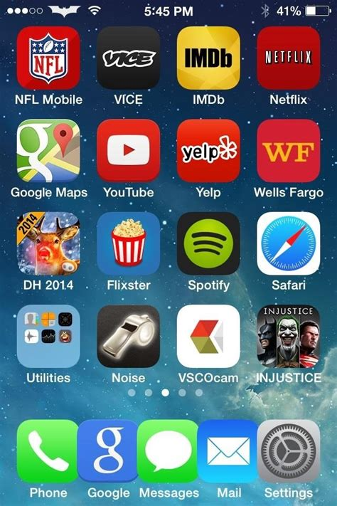 iphone 4s ios 7 homescreen wallpaper how to add a 5th column of apps to your iphone s home
