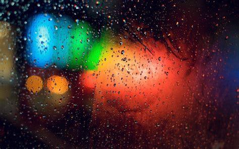 colorful rain wallpaper rain window wallpapers wallpaper cave
