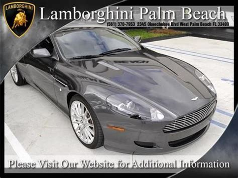 manual cars for sale 2006 aston martin db9 engine control find used 2006 aston martin db9 manual trans rare only 5 produced with manual trans in