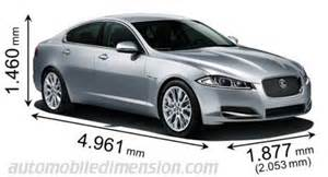 Jaguar Dimensions Dimensions Of Jaguar Cars Showing Length Width And Height