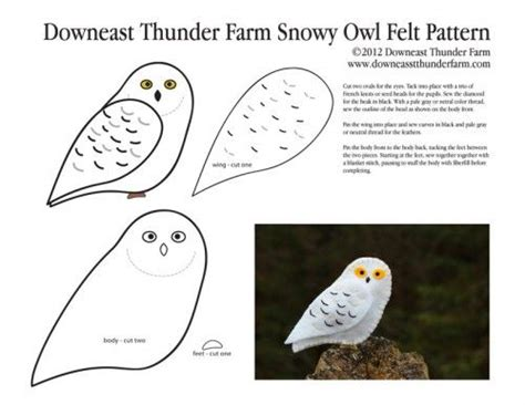 A Snowy Owl Papercraft Resting On My Laptop By - snow owl pattern owl moon crafts