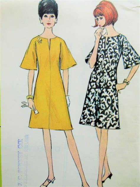 vintage mccalls pattern vintage mccall s 8184 sewing pattern 1960s dress pattern