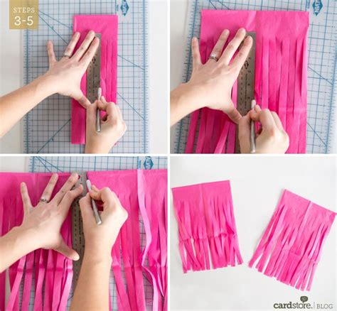 How To Make Paper Tassel Garland - 299 best images about cumple valentina 1 a 241 o on