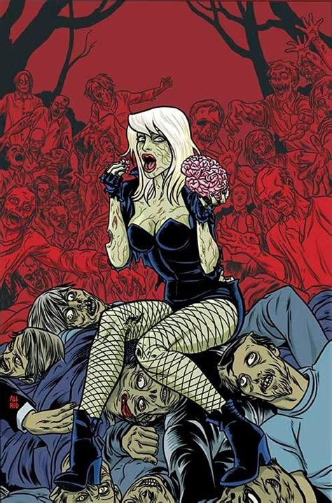 dc universe by mike black canary 5 horror variant cover by mike allred artist mike allred