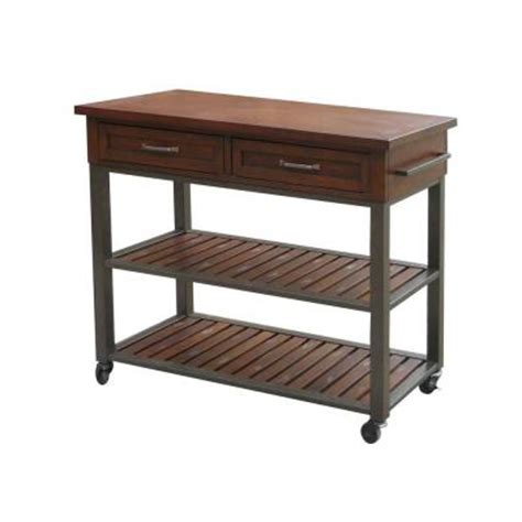 kitchen utility tables cabin creek wood kitchen utility table 5411 952 the home