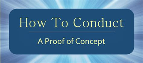 technology proof of concept template how to conduct a proof of concept qualitest