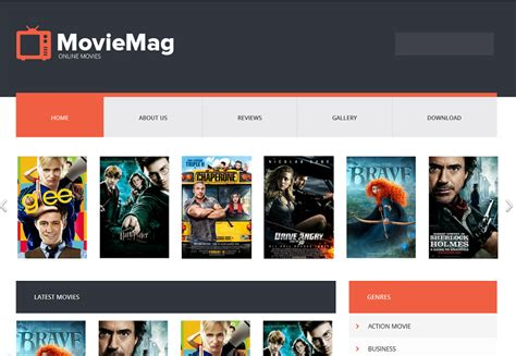 entertainment templates for blogger movie mag entertainment blogger template blogger