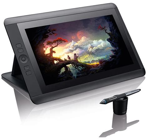 tutorial wacom cintiq 13hd wacom cintiq 13hd first look review review digital arts