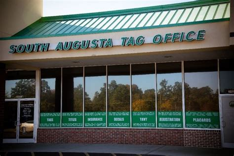 Tag Office Augusta Ga locations richmond county tax commissioners ga