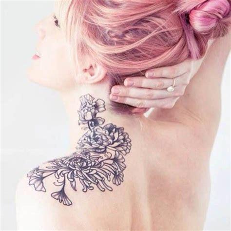 tattoo placement exles les 225 meilleures images 224 propos de neck tattoos sur