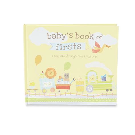 baby book pictures baby s book of firsts memory book shop your way