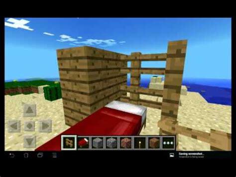 how to make a bed in minecraft pe how to make a bunk bed in minecraft pe youtube