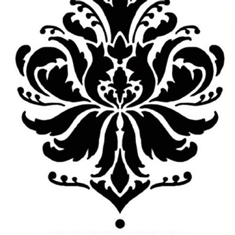 Brocade Home Decor by Damask Stencil Gabis Brocade Med Stencils For Walls And