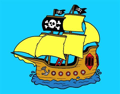 barco pirata dibujo dibujo de barco pirata pintado por en dibujos net el d 237 a