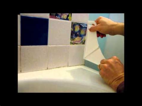 bathtub corner water stopper how to install a shower and bathtub splash guard youtube