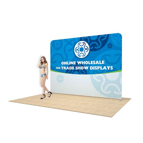 Backwallbackdrop 3x4 Include Stiker Printing 123top Wholesale For Trade Show Display