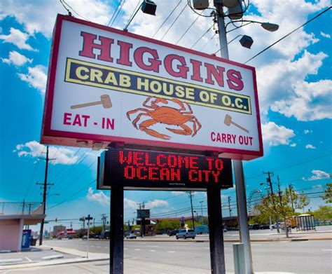 higgins crab house ocean city higgins crab house ocean city md ocbound com