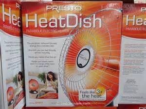 Costco Space Heaters Presto Heatdish Parabolic Heater