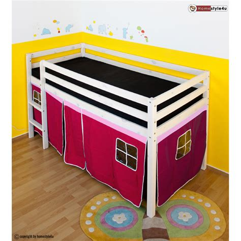 Curtains For Mid Sleeper Bed by Children Bunk Bed Loft Bed Child Mid Sleeper With Curtain