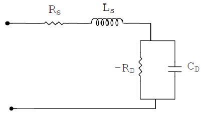 tunnel diode equivalent circuit equivalent circuit of tunnel diode
