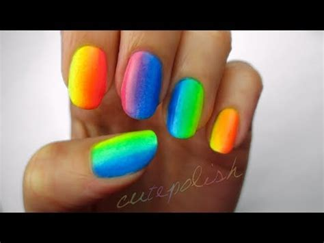 ombre nail art tutorial using acrylic paint ombre nail art tutorial using acrylic paint nails video