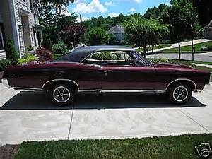 1967 Pontiac For Sale 1967 Pontiac Gto For Sale Canton Ohio