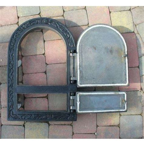 oven door wood stove smokehouse cast iron 49 x 32 5 cm ebay