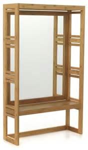 danong miroir de salle de bains avec tablette bord de