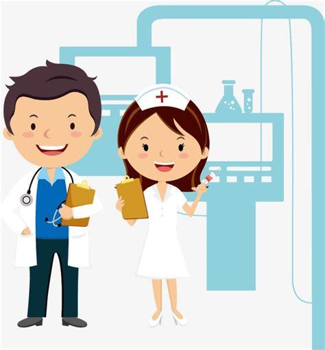 imagenes animadas de doctores m 233 dicos y enfermeras cartoon vector personajes de dibujos