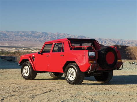 lambo and immaculate 1989 lamborghini lm002 headed to auction news