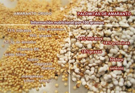 como cocinar el amaranto en grano opiniones de pseudocereal