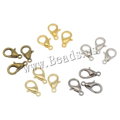 12pcs Wholesale Lots Bronze Tone Lobster Clasp Chain Necklaces 2x3mm 1 buy wholesale lobster clasps from china lobster