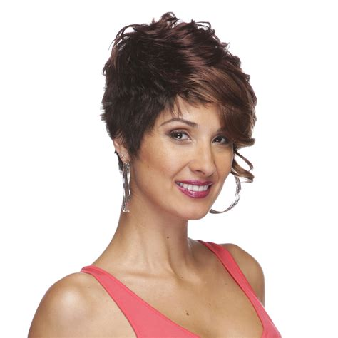 pictures of short wigs synthetic wigs short wig ponytail