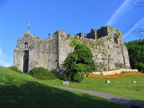 Small Home Building by Oystermouth Castle