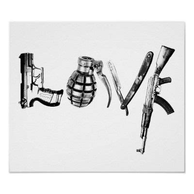 tattoo gun love love poster tattoos pinterest sexy armas e armas