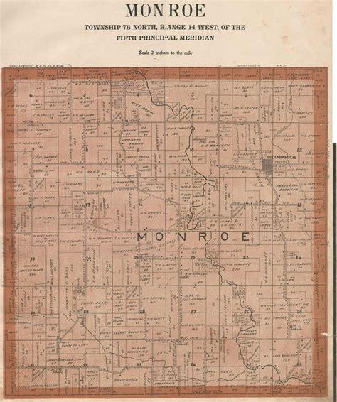plat maps 1905 plat maps mahaska county of iowa