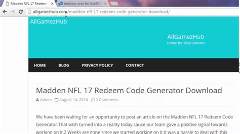 ps4 themes redeem codes madden nfl 17 redeem code download xbox 360 xbox one ps3