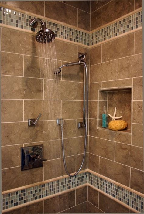 Bathroom Tile Idea 1000 Images About Shower Niche Ideas On Pinterest Shower Niche Glass Tiles And Bathroom Tile