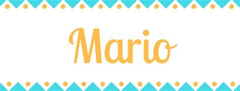 el significado de nombre sandra significado del nombre mario origen y significado de mario